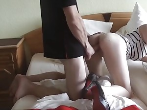 My Brohter's German Girlfriend Likes When I Fuck Her Tight Pussy