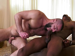 Perfidious thunk ass fucks gay beau in insane scenes