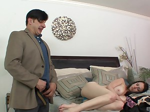 Big tits be beneficial to night Tiffany Love sprayed with caring cum
