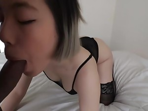 cute girlfriend loves prevalent give me a blowjob