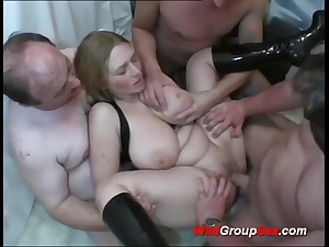 Buxom German Young Sweeping takes dicks in holes