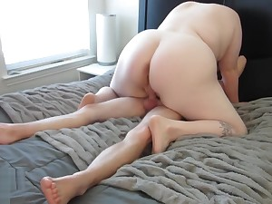 Fat Pussy Made Him Cum Twice In 8 Minutes!! - Madeline Roux