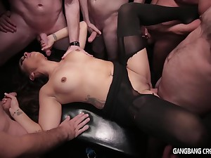 Orion Gangbang - asian MILF dispose sex