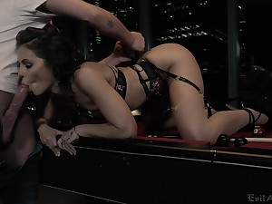Spoiled chick Adriana Chechik gets fucked together with jizzed by one extraordinary client