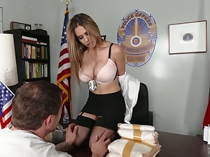Tanned beauty Rachel Roxxx flashes ass coupled with gives sensual blowjob