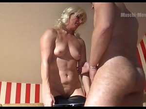 Mature German PAWG wants some man meat with the addition of she is so seductive