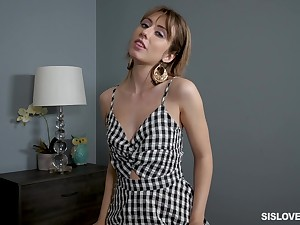Lustful chick Daphne Dare is bent over for quite brutal profound doggy