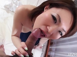Busty Beautiful Miki Uemura Hairy Pussy Pounded Hard by Blarney