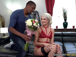 Two giant cocks attack all holes be beneficial to naughty blond babe Zoe Sparx